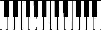 Рисунок Клавиатуры Фортепиано На Две Октавы  profitreklama